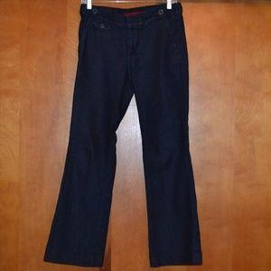 Banana Republic Dark Wash Trouser Jean Size 28 6P